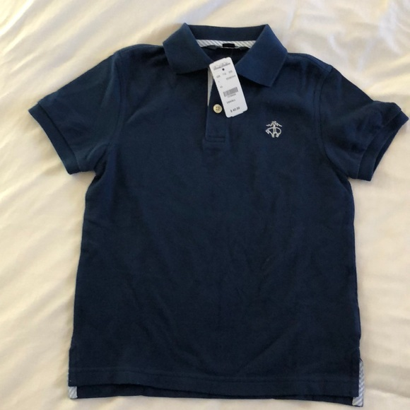NWOT Brooks Brothers Pique Knit Cotton Polo Shirt Extra Small